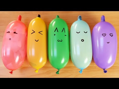 Making Slime With Funny Balloons ! Satisfying Relaxing Slime Video ! Part 3