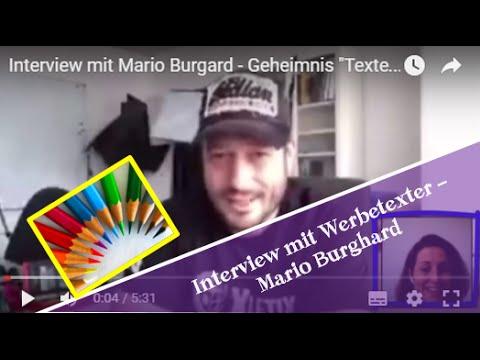 Interview Mit Mario Burgard