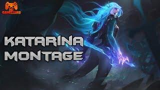 Katarina Montage - Best Katarina Plays S8  League Of Legends
