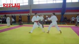VI Открытый Чемпионат и Первенство Федерации карате WKC России 2015 - Мужчины 14-15 лет (Кумите)