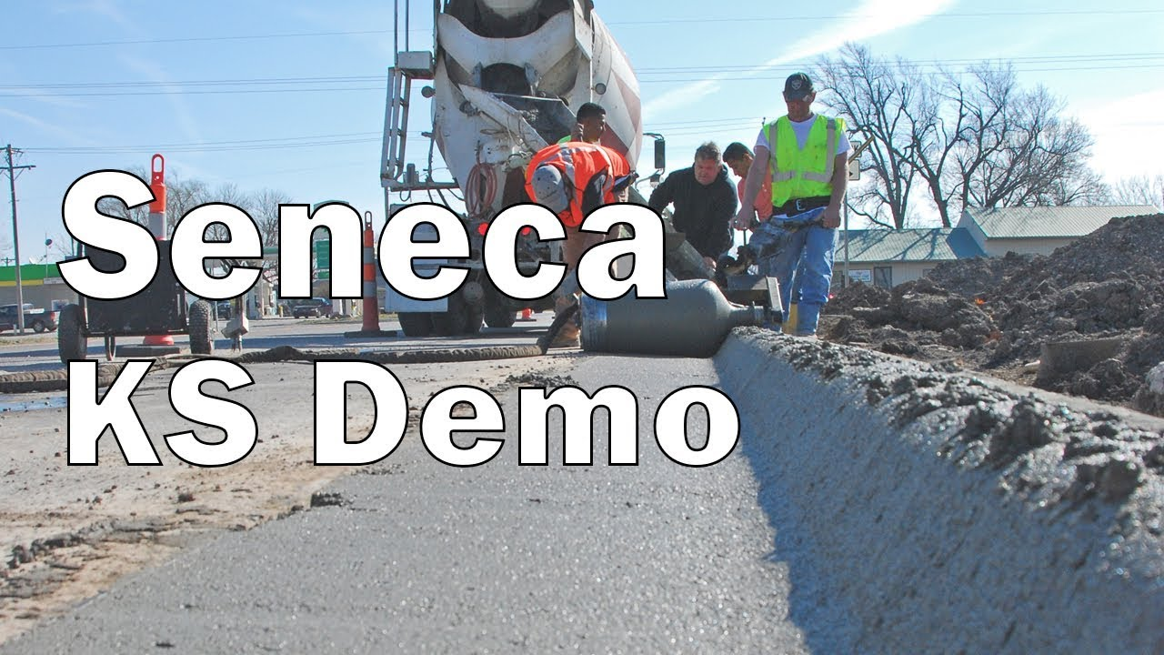 Curb Roller Seneca, KS Demo
