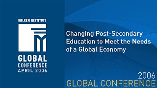 Changing Post-Secondary Education to Meet the Needs of a Global Economy