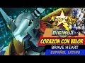 CORAZON CON VALOR - Mago Rey - Brave Heart - ESPAÑOL LATINO- Digimon 01 Tema de Evolucion