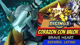 Repeat youtube video CORAZON CON VALOR - Mago Rey - Brave Heart - ESPAÑOL LATINO- Digimon 01 Tema de Evolucion