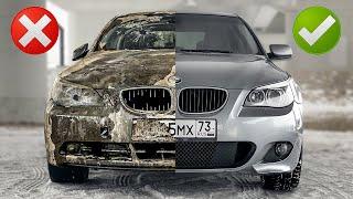 Купили и прокачали грязнейший БМВ: продадим за рубль #тачказарубль Капсула времени на 10 лет из BMW