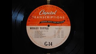 Phil Marx Steel Guitar w Wesley Tuttle's Band Transcription G-14