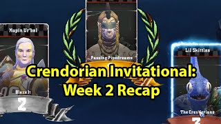 Blood Bowl 2: Crendorian Invitational Week 2 Recap
