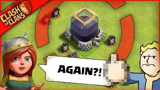 I DID IT AGAIN... ▶️ Clash of Clans ◀️ WASTING EVERYONE'S LOOT pt. 3