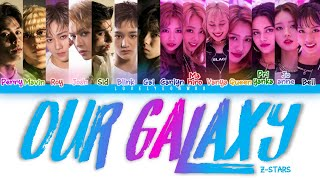 Z-STARS – Our Galaxy Lyrics (Color Coded Eng)