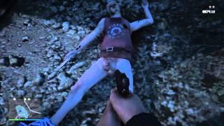Grand Theft Auto V naked village