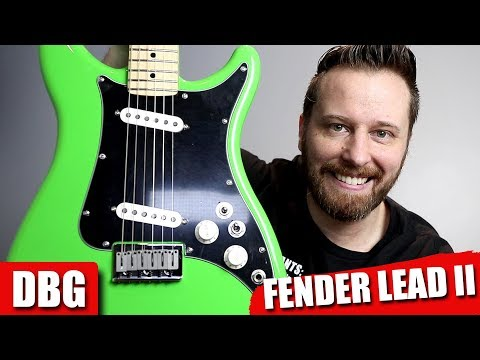 Fender's COOLEST New Guitar! - The Lead II!