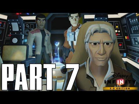 The Force Awakens - Star Killer Base - Gameplay Part 7 (Disney Infinity 3.0 HD Walkthrough)
