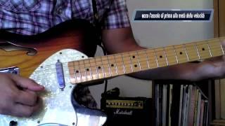 Lezioni di chitarra Blues per principianti: Eric Clapton Style Lick