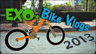 Late Night Vloggin' w/ EXO | Bike Vlog May 2013