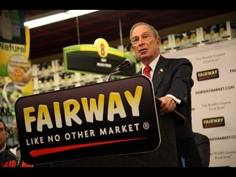 Mayor Bloomberg Speaks at Ribbon-Cutting Ceremony for Grand Opening of Fairway Market .