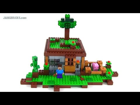 LEGO Minecraft The First Night Review Set 21115 YouTube