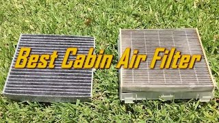 ? Best Auto Cabin Air Filter Review Under $9 for TOYOTA, LEXUS, SUBARU, Ford | NOT NAPA Autozone