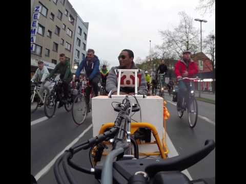 Critical Mass Wuppertal - April 2017