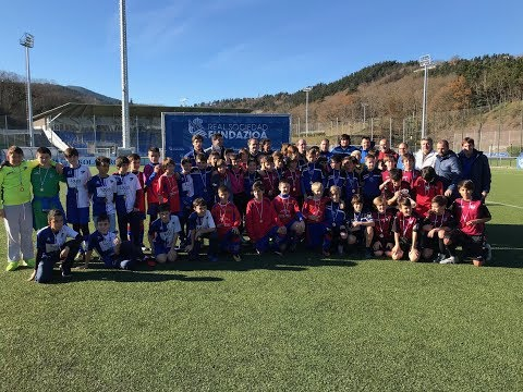 Fiesta del fútbol alevín en Zubieta 24/12/2017