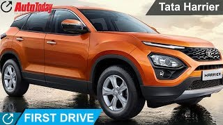 First Drive With The All- New Tata Harrier | AutoToday