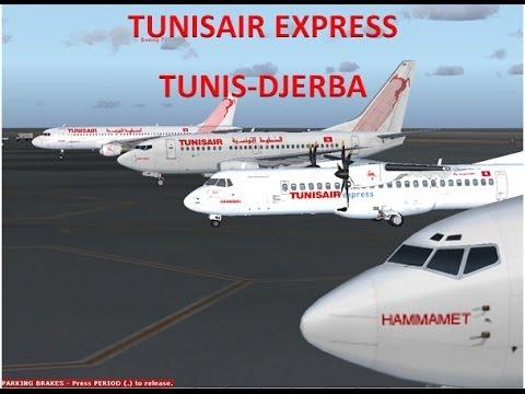 Tunisair express Tunis-Djerba (FSX)