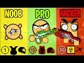 NOOB vs PRO vs HACKER - Surviv.io Battle Royale Highlights