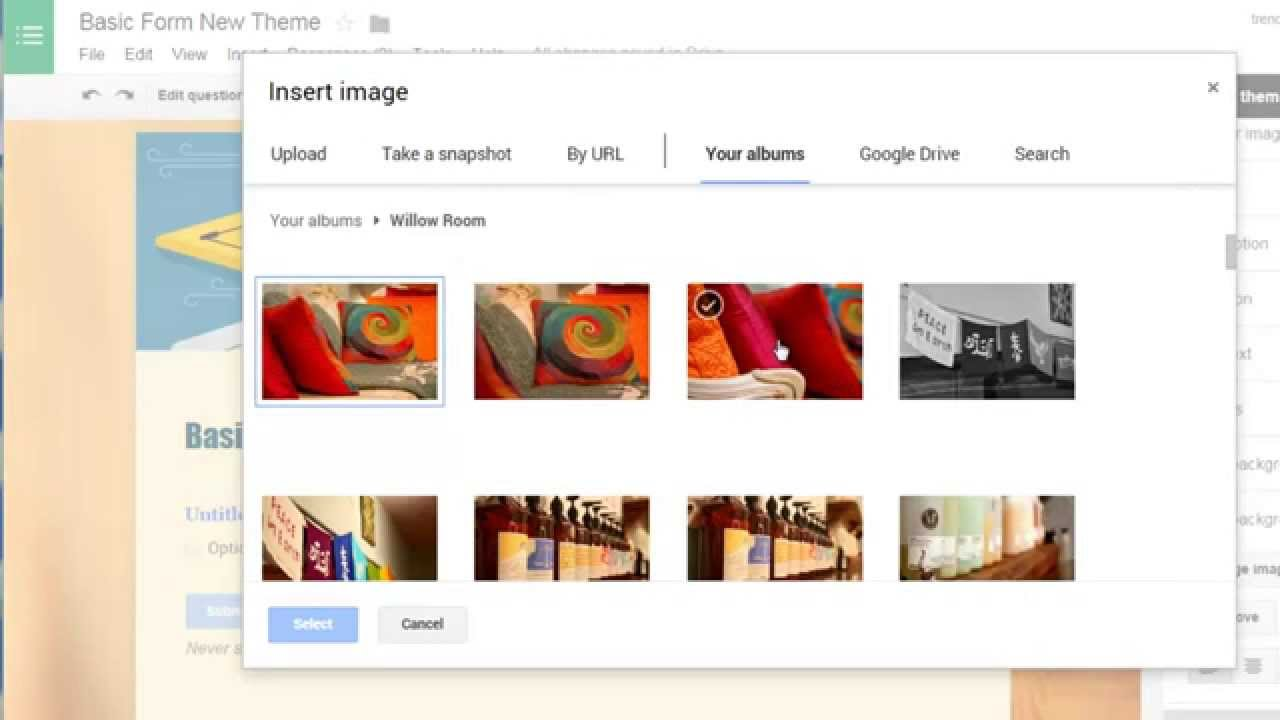 Google themes editor - New Google Forms Editor