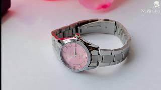 Женские розовые часы от Delevan  AliExpress обзор