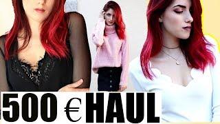 500€ HERBST Fashion Online Shop Try On HAUL I Luisacrashion