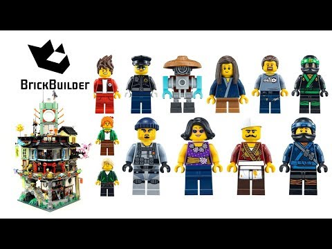 All Minifigs from Lego Ninjago 70620 NINJAGO City - Brick Builder