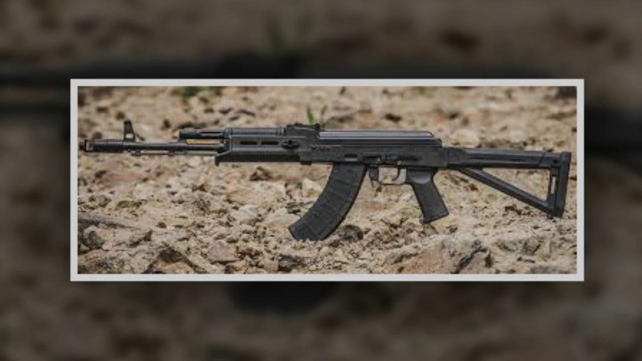 effect sound - gun ak 47 shots - tiếng súng ak 47 bắn liên thanh