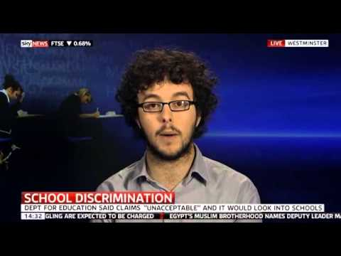 Richy Thompson on Sky News, discussing section 28