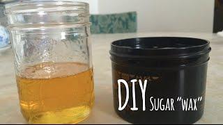 DIY Sugar Waxing