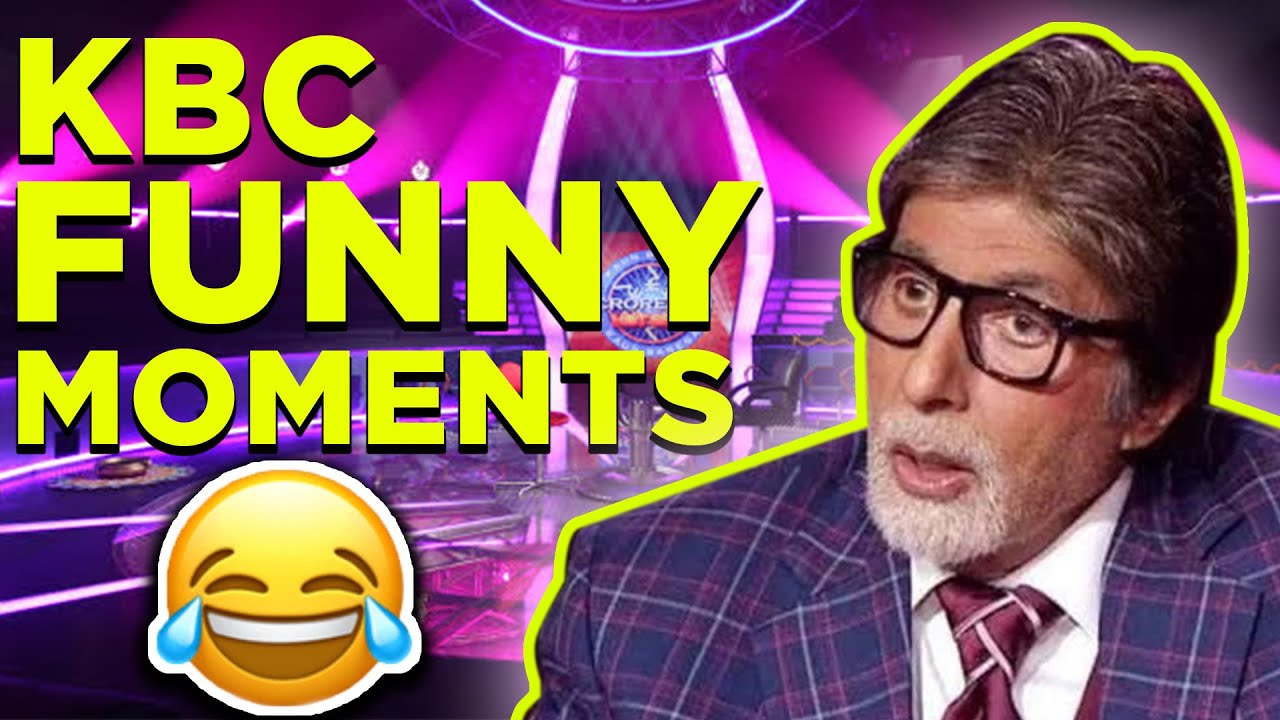 2b3b3de20ce Top 3 Funny Moments in KBC (Kaun Banega Crorepati) - YouTube