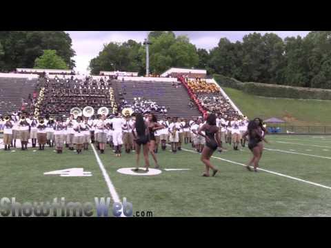 Forest Park vs KIPP Atlanta Collegiate High Marching Band - 2016 ATL Ultimate Band Clash Jamboree