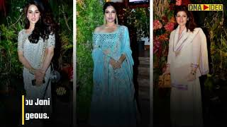 B-town attends Sandeep Khosla's niece Saudamini Mattu's wedding reception