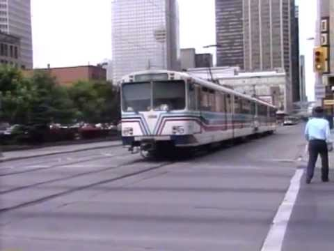 CALGARY LIGHT RAIL 1995