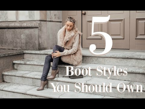 5 BOOT STYLES EVERY GIRL SHOULD OWN // Fashion Mumblr