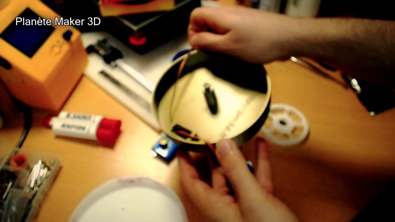 Planete Maker 3d Diy Creation D Un Plateau Tournant Motorise Sur Mesure Youtube