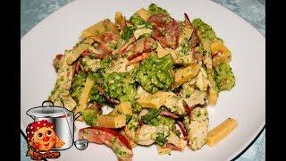 Куриный салат с капустой Брокколи