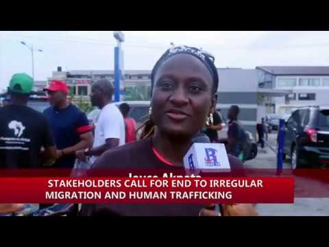 Footprint to Africa, NACC call for an end to Irregular Migration and Human Trafficking