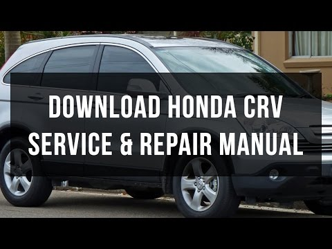 Download Honda CRV service and repair manual free