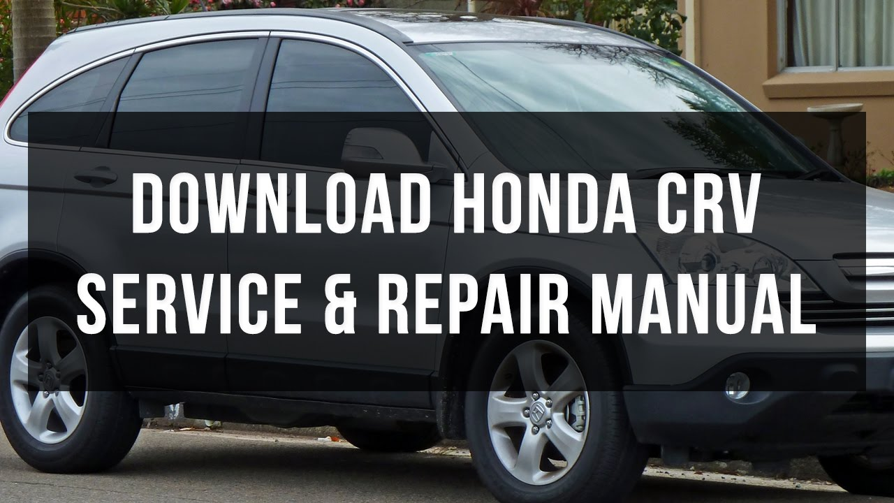 2016 honda crv service manual