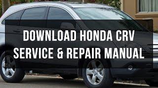 Скачати сервіс Хонда CRV і ремонт керівництво безкоштовно