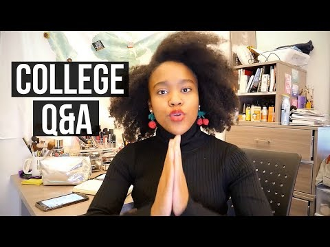College Q&A: Being Black at a PWI? Balancing Relationships & School? Leaving home for college?