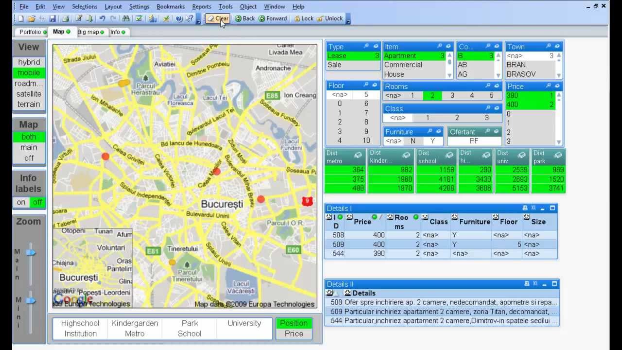 on qlikview maps