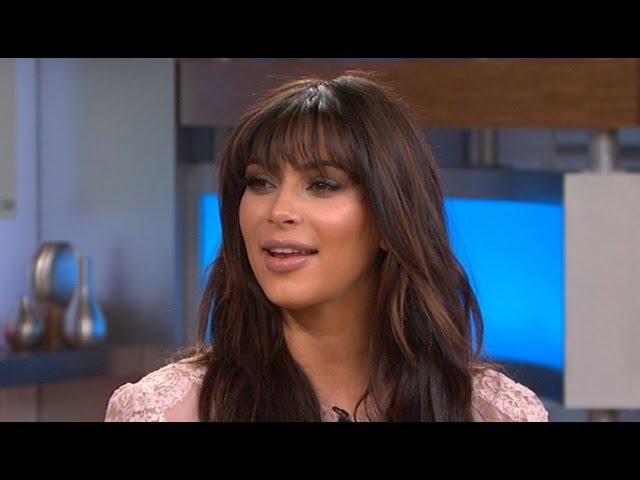 Kim Kardashian Reveals Pregnancy Warning From Sister Kourtney: 'GMA' Interview 2013 Travel Video
