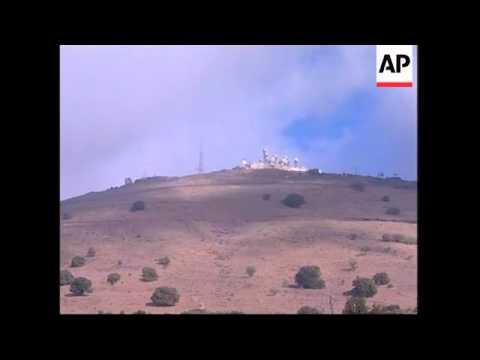 Israeli-Syrian Border Morning After Syria Said Military Fired At Israeli Aircraft