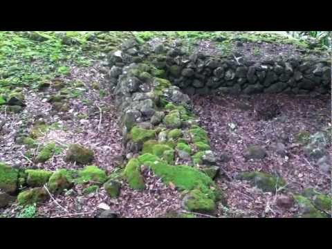Hawaii, Oahu, Ancient Burial Ground,Temple..