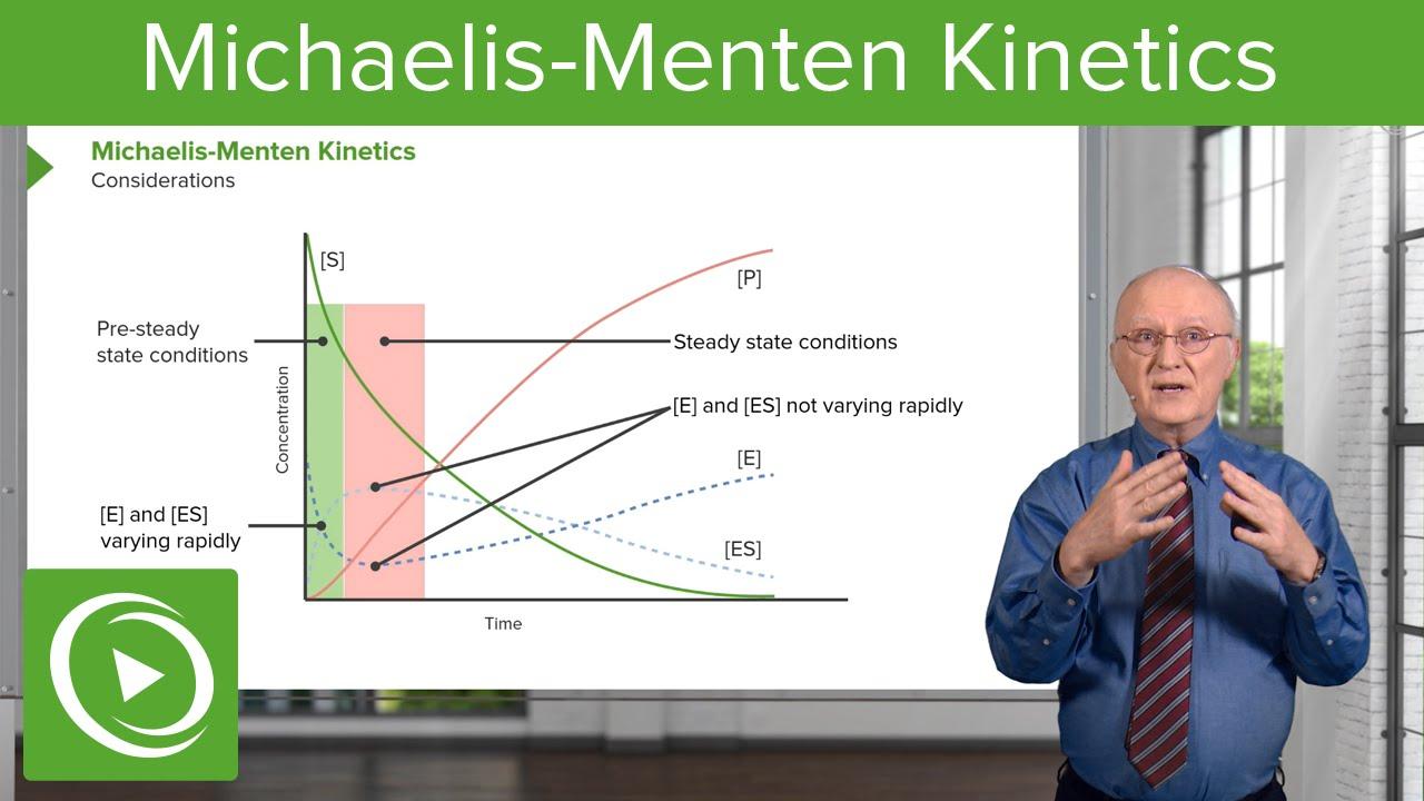 Download Michaelis-Menten Kinetics: Considerations & Time Relation – Biochemistry   Lecturio